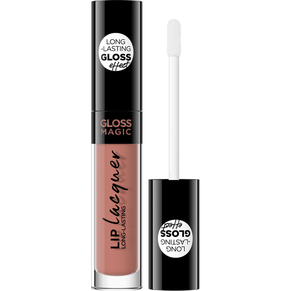 Блеск для губ Gloss Magic Lip Lacquer тон 08 sweet caramel сладкая карамель, 4,5мл