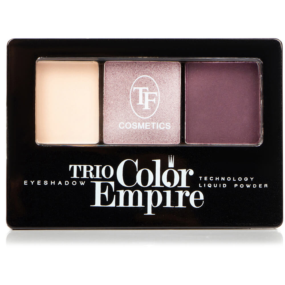 "Тени для век ""Trio Color Empire"" ТЕ-22-307C тон 307 Аметистовый"