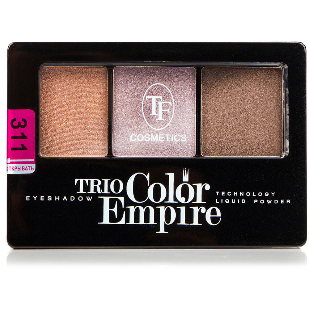 "Тени для век ""Trio Color Empire"" ТЕ-22-311C тон 311 песчанная дюна"