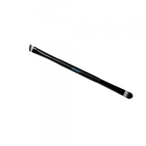 Кисть двухсторонняя для нанесения, растушевки теней,коррекции бровей  6308 B2