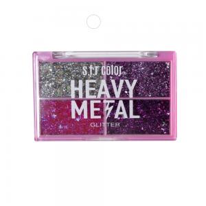 """Тени д/век """"Glitter"""" 7338 Heavy Metal тон 03"""