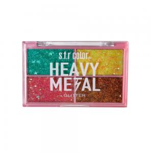 """Тени д/век """"Glitter"""" 7338 Heavy Metal тон 02"""