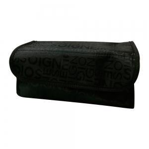 Дорожный несессер 11х24х11 текстиль, Жаккард черный