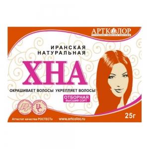 Иранская Хна для волос АртКолор, 25г