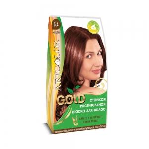 Раститительная краска для волос АртКолор Goldа Каштан, 25гр