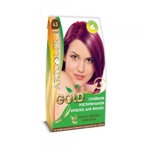 Раститительная краска для волос АртКолор Gold Вишня, 25гр