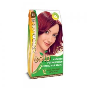 Раститительная краска для волос АртКолор Gold Дикая вишня, 25гр
