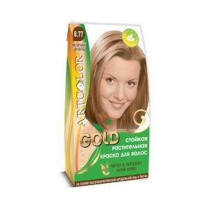 Раститительная краска для волос АртКолор Gold Молочный шоколад, 25гр