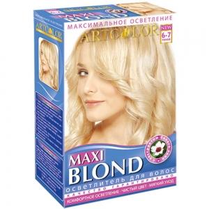 Осветлитель для волос 3 в 1 АртКолор Макси Блонд