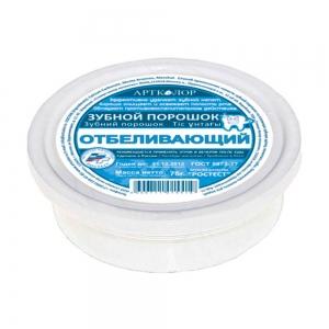 """Зубной порошок АртКолор """"Отбеливающий"""", 55/75г"""