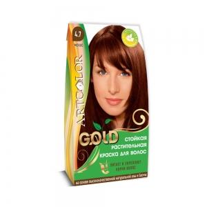 Раститительная краска для волос АртКолор Gold Мокко 25гр