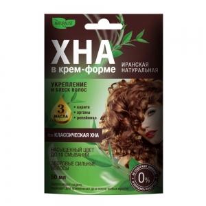 Хна для волос в крем-форме Классическая хна, 50мл