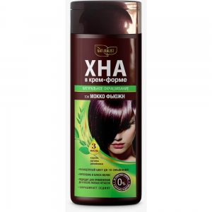 Хна для волос в крем-форме Мокко фьюжн, 170мл