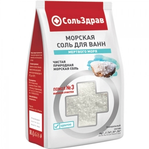 Соль для ванны Морская, 800г