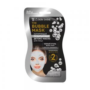The Bubble Mask Детокс-маска д/лица Пузырьковая матирующая, саше (2х7мл)