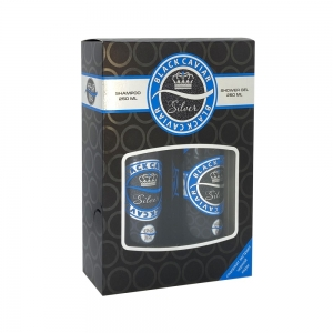 Подарочный набор Black Caviar N 811 Silver