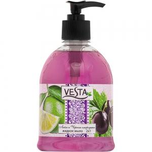 Жидкое мыло Веста Лайм и Черная смородина, 500мл