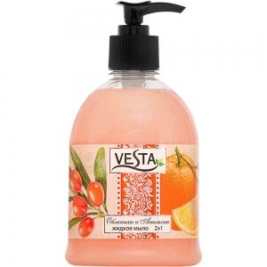 Жидкое мыло Веста Облепиха и Апельсин, 500мл