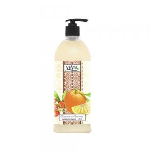 Жидкое мыло Веста Облепиха и Апельсин, 1л