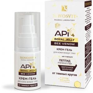 "Крем-гель для кожи вокруг глаз API Royal Jelly ""Bee Venom"", 30мл"