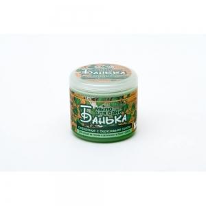 Густое мыло для бани Сибирское с березовым соком, 450мл