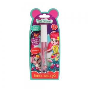Блеск для губ розовый, 3мл (блистер)