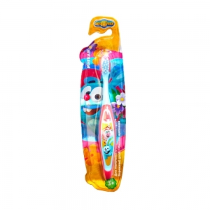 """Зубная щетка """"Смешарики"""", детская, с рисунком на ручке"""