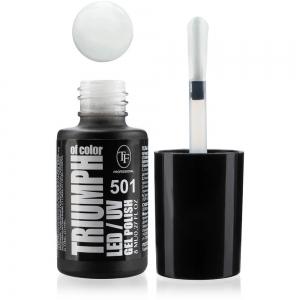 """Гель-лак для ногтей LED/UV """"Triumph of Color"""" тон 501, 8мл белый айсберг"""