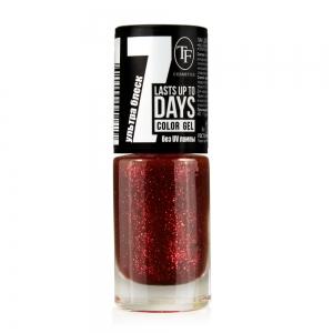 """Лак для ногтей """"Color Gel"""" тон 286 Праздничный красный, 8мл"""