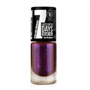 """Лак для ногтей """"Color Gel"""" тон 287 Сине-Фиолетовый, 8мл"""