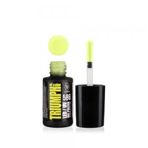 """Гель-лак для ногтей LED/UV """"Triumph of Color"""" тон 586, 8мл"""