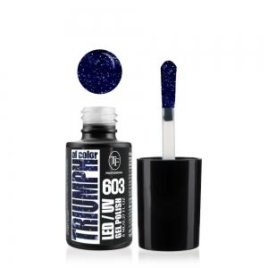"""Гель-лак для ногтей LED/UV """"Triumph of Color"""" тон 603, 8мл"""