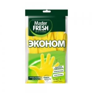 Master FRESH ЭКО Перчатки хоз. резиновые р-р L/XL