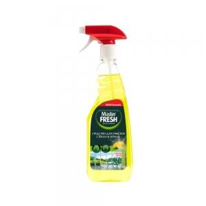 Средство для стекол и поверхностей c ароматом лимона, 500мл