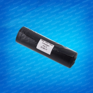 Мешки д/мусора Стандарт ПВД 120л (10шт) черные в рулоне 33-37мкм, 650х1050см