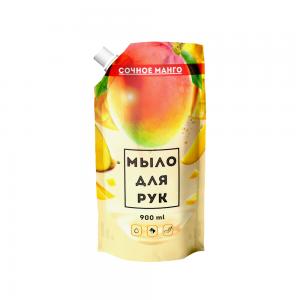 Жидкое мыло 900 мл Сочное манго дой-пак