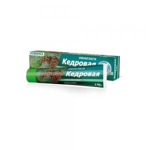 """Зубная паста """"КЕДРОВАЯ"""" Отбеливающая, 170г"""