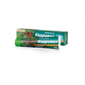 """Зубная паста """"КЕДРОВАЯ"""" с Кальцием, 170г"""