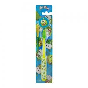 Зубная щетка № 3 детская, с декоративным колпачком