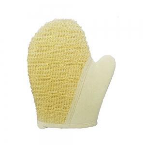Мочалка натуральная (крапива + хлопок) рукавица 45462