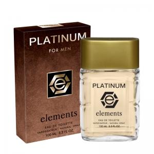 Туалетная вода Platinum Elements для мужчин, 100мл