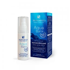 Крем д/лица Интенсивный увлажняющий Aqua Bank 48 часов д/оч.сухой кожи, 50мл