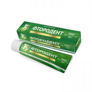 """Зубная паста """"Фтородент F"""" Family для всей семьи, 170г"""