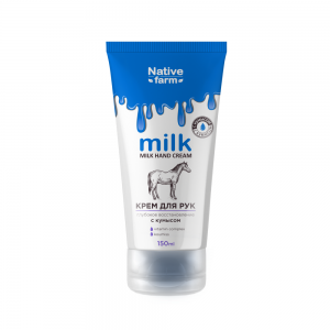 Крем для рук Milk глубокое восстановление, с кумысом, 150 мл