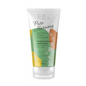 Pure Harmony Скраб-маска д/глубокого очищения лица энергетический, 150мл
