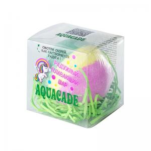 """Соль для ванн Плавающий шар """"Aguacadе"""" (зеленый-розовый-синий) 130г п/п (1шт)"""