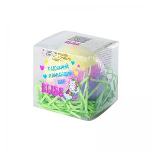 "Соль для ванн Плавающий шар ""Bliss"" (желтвй-розовый-зеленый) 130г п/п (1шт)"