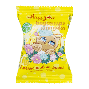 "Соль для ванн ""Шипучая"" Happy-ki Бодрящая шипучка, п/п (40г)"