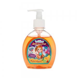 Жидкое мыло с ароматом Мультифрукт, 250мл