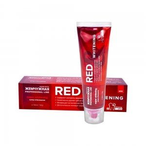 "Зубная паста Жемчужная PROF ""Red and Whitening"", 100мл"